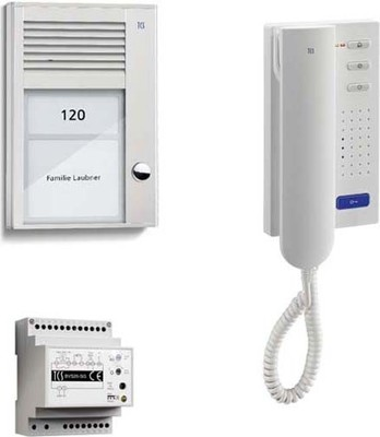TCS Tür Control Paketlösung 1 Taste AP,1 Telefon PSC2110-0000