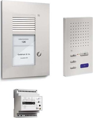 TCS Tür Control Paketlösung Freispr. 1 Taste UP PSU2210-0000