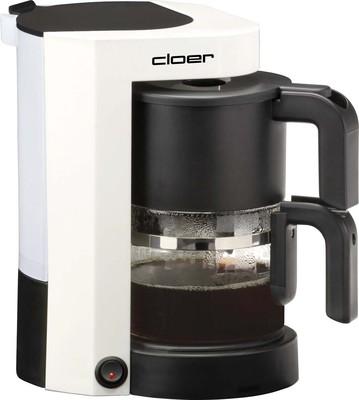 Cloer Kaffeeautomat 5981 weiß/sw