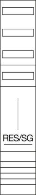 Hager Komplettfeld 1350mm,1feld RES/TRE ZH53XL