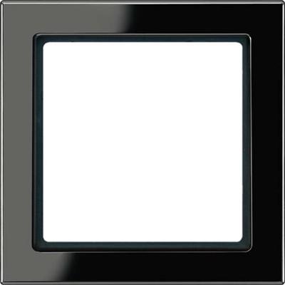Jung Rahmen 1-fach schwarz waage/senkrecht FD 981 SW