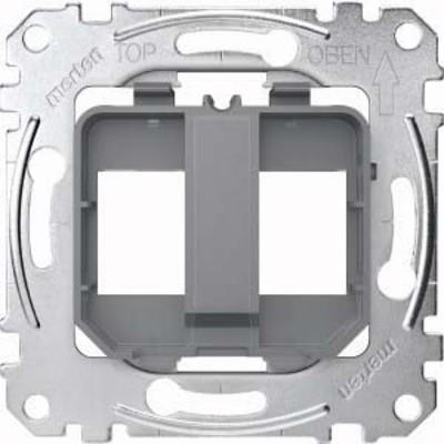 Merten Tragplatte transparent für Steckverbinder MEG4566-0080