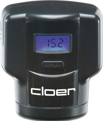 Cloer Weinflaschenverschluss Temperaturanzeige 9870 sw