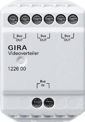 Gira Videoverteiler Türkommunikation 122600