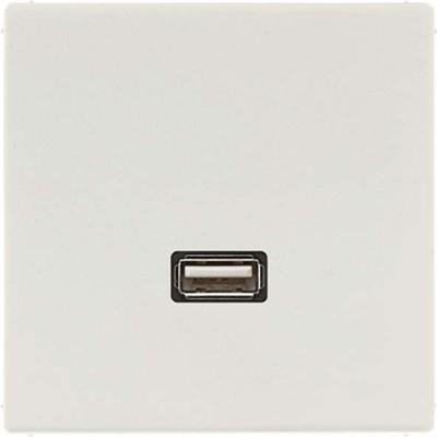 Jung Multimedia-Anschluss lichtgrau USB m.Tragring MA LS 1122 LG