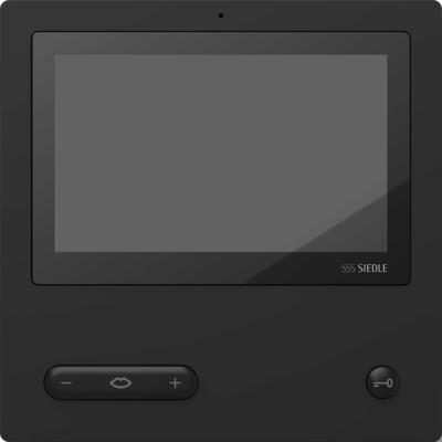 Siedle&Söhne Bus-Video-Panel Comfort schwarz BVPC 850-0 S