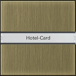 Gira Hotel-Card-Taster BSF bronze BSF System 55 0140603