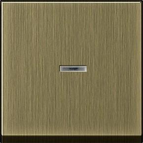 Gira Wippe Kontrollfenster bronze System 55 0290603