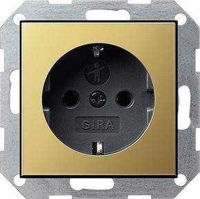 Gira SCHUKO-Steckdose KS System 55 ms/anth 0453604