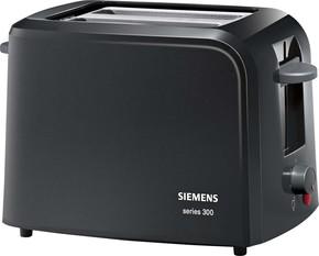 Siemens Kleingeräte Toaster 2 Scheiben TT3A0103 sw