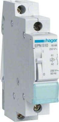 Hager Fernschalter 1S, 230V,16A EPN510
