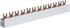 Hager Phasenschiene 3P,10qmm,12mod,Gabel KDN363A