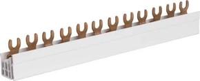 Hager Phasenschiene 3P,16qmm,57mod,Gabel KDN380B