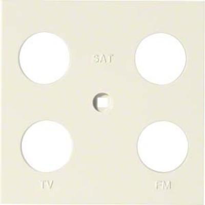 Hager Abdeckung Antenne 4-fach ch sym. creme WYA241