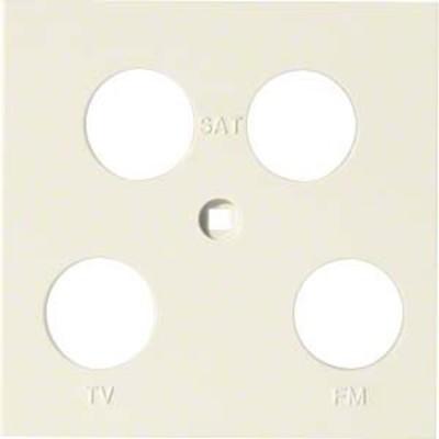 Hager Abdeckung Antenne 4-fach ch asym. creme WYA271
