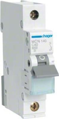 Hager Leitungsschutzschalter 1pol. C-40A, 6kA MCN140