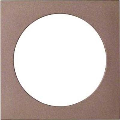 Hager Abdeckung Multime.Einssatz bronze WYA488