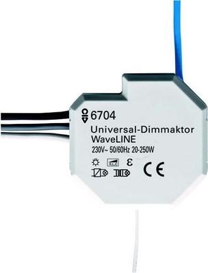 Busch-Jaeger Dimmaktor WaveLINE weiß 6704