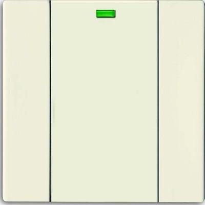 Busch-Jaeger Bedienelement 1-fach savanne/elfenbeinws 6731-82