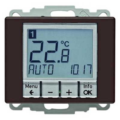 Berker Temperaturregler br/gl mit Schließer 20440001