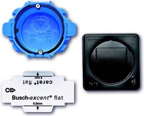 Busch-Jaeger Montageset UP, 2-fach ch 3048/20