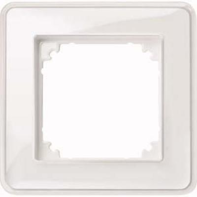 Merten Rahmen 1-fach ch tr/pws m. Farbeinlegerset MEG4010-3500
