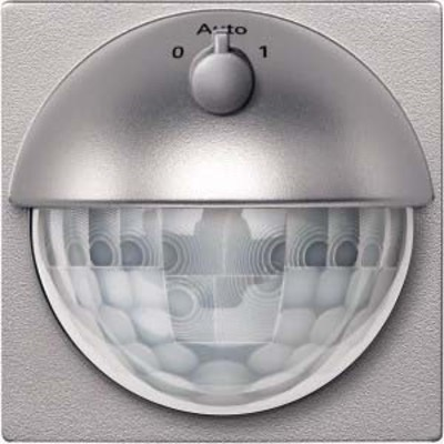 Merten Sensor-Modul mit Schalter alu, UP, Syst.M MEG5711-0460
