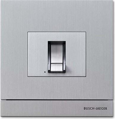 Busch-Jaeger Zutrittskontrolle außen edelstahl FingerprintModul 83100/70-660