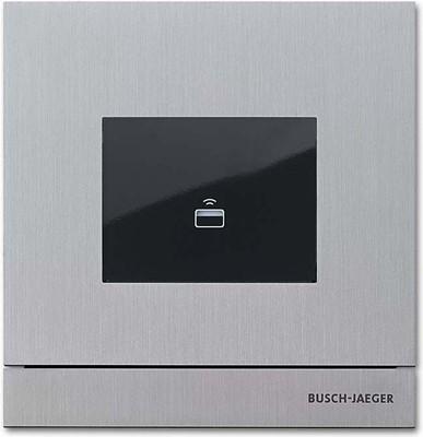 Busch-Jaeger Zutrittskontrolle außen edelstahl TransponderModul 83100/72-660