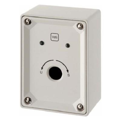 Berker Schlüsselschalter polarweiß glänzend LED-Sicherheitstech. 910312