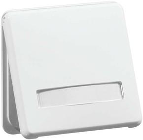 Peha Steckdose Erdungsstift weiß Beschriftungsf. B 80.6671 K WU NASIW