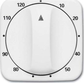 Busch-Jaeger Abdeckung 120min weiß f. Zeitschaltuhr 1771-212-103