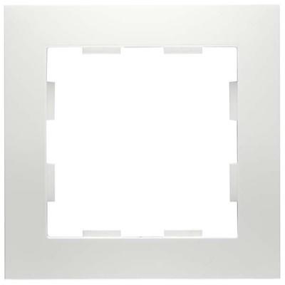 Peha Rahmen 1-fach ch reinweiß D 11.571.02
