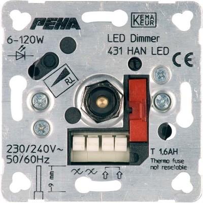 Peha Drehdimmer Unterputz LED D 431 HAN LED o.A.