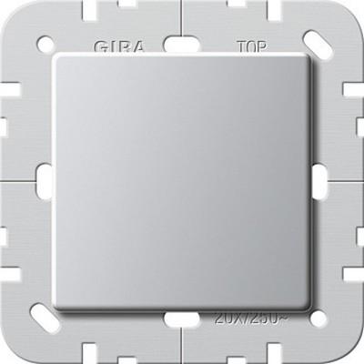 Gira Wippschalter Aus 20A aluminium 2837203