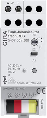 Gira Funk Jalousieaktor REG 1-fach ch Gira eNet 543700