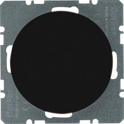 Berker Blindverschluss sw/gl m. Zentralstück 10092045