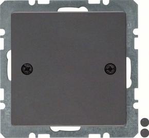 Berker Blindverschluss anth/sa m. Zentralstück 10096076