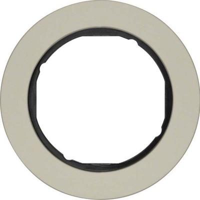 Berker Rahmen Eds/sw 1-fach ch, rund 10112004