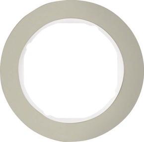 Berker Rahmen Eds/pows 1-fach ch, rund 10112014