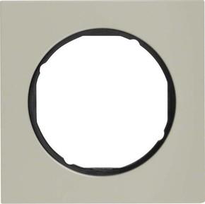 Berker Rahmen Eds/sw 1-fach ch, rund 10112204