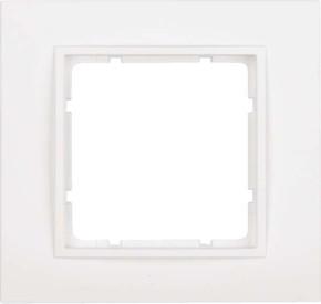 Berker Rahmen pows/matt 1-fach ch 10116919