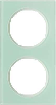 Berker Rahmen Glas/pows 2-fach ch 10122209
