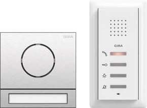 Gira EFH-Paket Audio Edelstahl 2406000