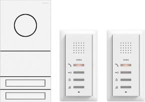 Gira ZFH-Paket Audio verkehrs-ws/lack. 2407902