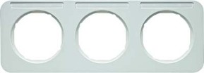 Berker Rahmen m.Beschriftungsfeld polarweiß glänzend 10132179