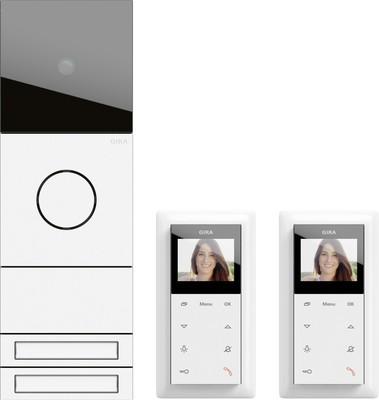 Gira ZFH-Paket Video verkehrs-ws/lack. 2417902