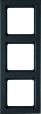 Berker Rahmen anth/samt 3-fach ch 10136096