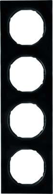 Berker Rahmen sw/gl 4-fach ch 10142245