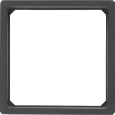 Berker Adapterring f.Zentralstück 50x50mm anth/sa 11096076